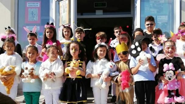 Tosya İlkokulunda Hayvanları Koruma Günü Programı