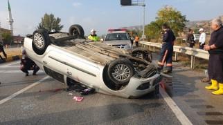 Tosya D-100 Karayolunda Kaza 4 Yaralı