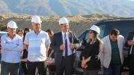 Tosya OSB'de tekstil fabrikasının temeli törenle atıldı