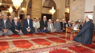 Tosya'da Barış Pınarı Harekatı için mevlit okundu