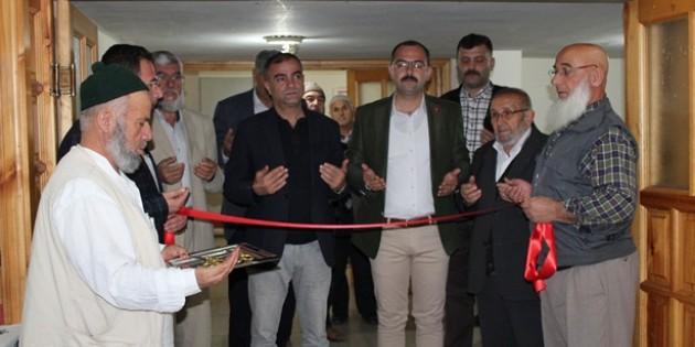 Tosya'da hayır kermesi dualarla açıldı