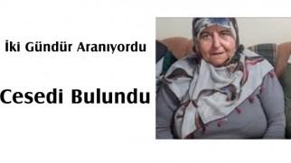 Tosya'da kayıp kadının cesedi bulundu