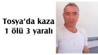 Tosya'da kaza; 1 ölü 3 yaralı