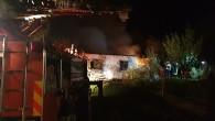 Tosya'da yangın, bağevi kül oldu