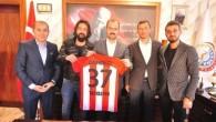 Tosyaspor'dan Belediye Başkanı Volkan Kavaklıgil'e ziyaret