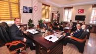 Öğretmenlerden Tosya Belediye Başkanına Ziyaret