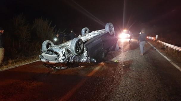 Kastamonu Yolu'nda Kaza, 1 Yaralı