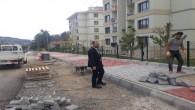 Tosya'da bir ayda 15 bin metrekare üst yapı çalışması yapıldı