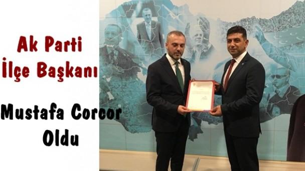 Ak Parti Tosya İlçe Başkanlığına Mustafa Corcor Getirildi