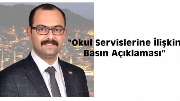 Belediye Başkanı Volkan Kavaklıgil'den Okul Servislerine İlişkin Basın Açıklaması