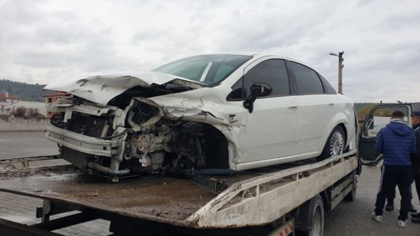 Ortalıca'da kaza; 5 yaralı