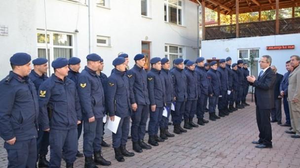 Tosya Jandarma Komutanlığında Sertifika Töreni