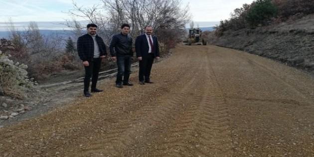 Tosya'da mahalleler asfaltlanıyor