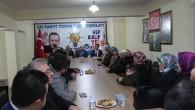 Ak Parti Milletvekili Hakkı Köylü Tosya'da Partlilerle Biraraya Geldi