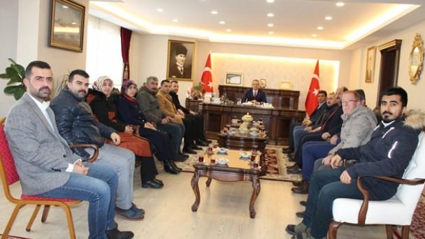 Ak Parti Tosya İlçe Yönetimi Makam Ziyaretlerine Başladı