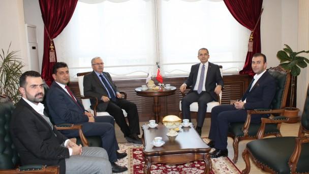 Anayasa Komisyonu Başkanından Tosya Kaymakamına Nezaket Ziyareti
