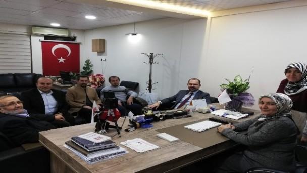 Başkan Kavaklgil'den Gazetemize Ziyaret