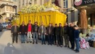 Deprem Yardımları Tosya'dan Yola Çıkarıldı