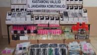 Jandarma, Tosya'da 945bin TL değerinde kaçak eşya yakaladı
