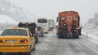 Sürücüler Ankara Yolunda hazırlıksız yakalandı