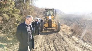 Tosya Kaymakamı Köy Yollarında Yapılan Çalışmaları İnceledi