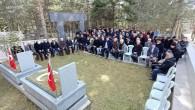Tosyalı Ülkücü Şehit Mehmet Sarıaslan kabri başında anıldı