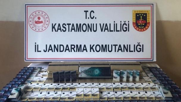 385 paket kaçak sigara ele geçirildi
