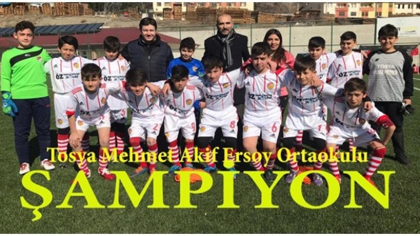 Mehmet Akif Ersoy Ortaokulu Futbol İlçe Birincisi