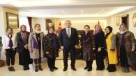 Tosya El Sanatları Derneği, Kaymakam Pişkin'i ziyaret etti