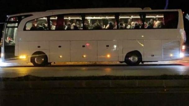 Karantina altındaki otobüs şoförünün tahlil sonucu negatif çıktı