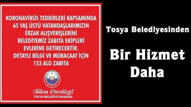 Tosya Belediyesi'nden Büyük Hizmet