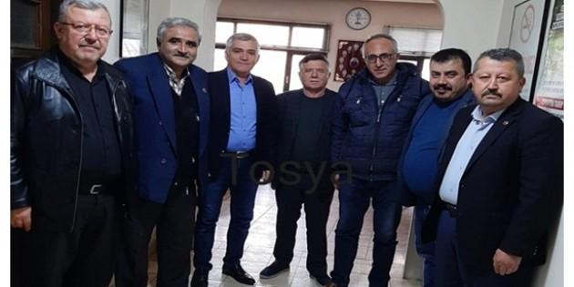 Tosya'da Meslek Odalarından Korona Virüs Tedbirlerine Karşı Ortak Açıklama