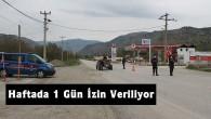Köylerden Şehir Merkezine Girişler Haftada Bir Gün Jandarma Kontrolünde