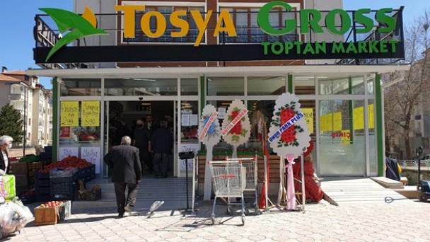 Tosya Gross Market Hizmete Girdi