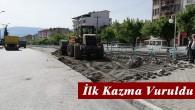Belediye Cadde ve Sokaklarda Yenileme Çalışmalarına Başladı