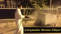 Belediye Ekipleri Dezenfektasyon ve İlaçlama Çalışmalarına Devam Ediyor