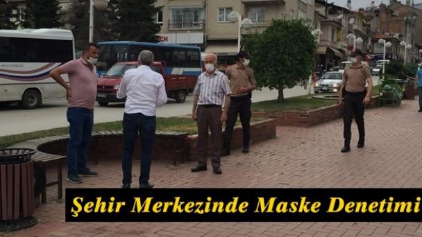 Tosya'da Cadde ve Sokaklarda Maske Denetimi