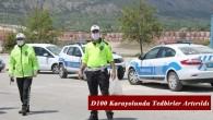 Tosya'da D-100 Karayolunda korana virüs önlemi
