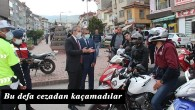 Tosya'da motosikletçilere 36. 861 TL ceza kesildi