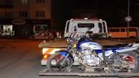 Tosya'da motosikletlere sıkı denetim
