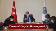 Tosya'da tarım ve hayvancılık sektörü için virüse karşı tedbirler artırıldı