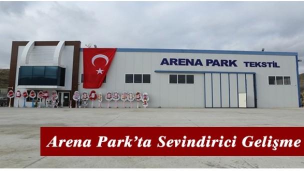 Arena Park'ta Sevindirici Gelişme