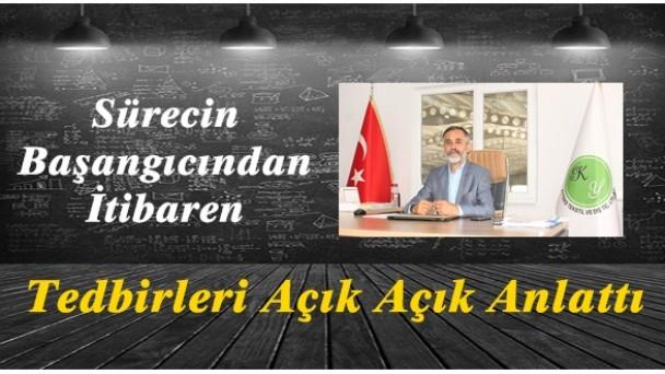 Tekstil fabrikası sahibi Ömer Kaya, Covid19 için alınan tedbirleri anlattı
