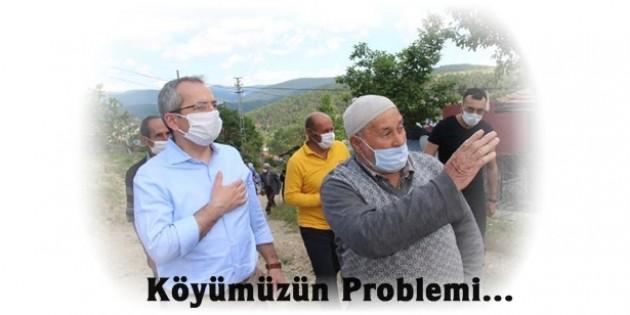 Tosya Kaymakamı Gözkomuz Köyünü Ziyaret Etti