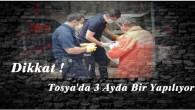 Tosya'da deprem acil yardım konteynırı kontrol edildi