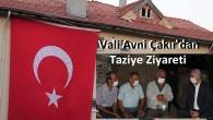 Şehit Polisin Tosya'daki Babaocağına Vali Avni Çakır'dan Taziye Ziyareti