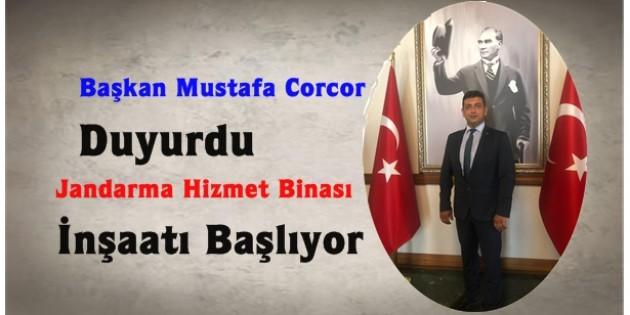 Başkan Corcor; İnşaat 22 Ayda Tamamlanacak