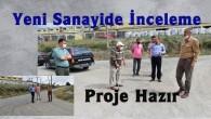 Başkan Volkan Kavaklıgil,  Küçük Sanayi Sitesinde İncelemelerde Bulundu
