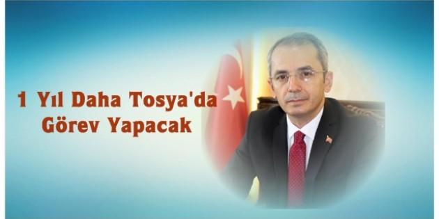 Kaymakam Deniz Pişkin Tosya'da Görevine Devam Edecek