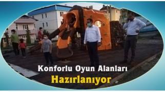 Tosya Belediyesi Parkları Yeniliyor